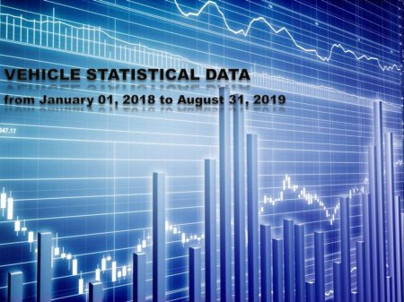 VEHICLE STATISTICAL DATA from January 01, 2018 to August 31, 2019