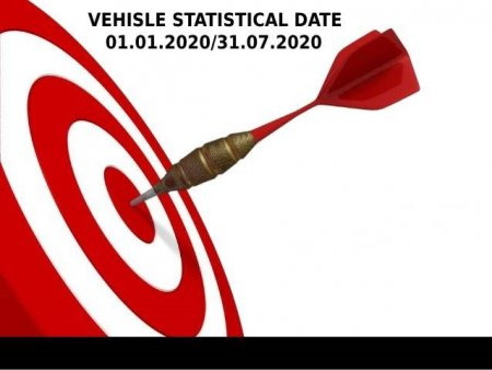 VEHICLE STATISTICAL DATE 01.01.2020/31.07.2020